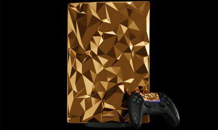 PlayStation 5 Golden Rock Edition